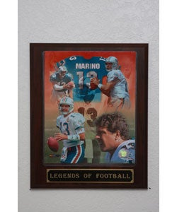 Dan Marino Collectible Plaque