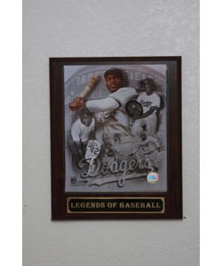 Jackie Robinson Collectible Plaque