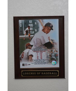 Carl Yastrzemski Collectible Plaque