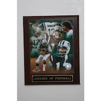 Joe Namath Collectible Plaque