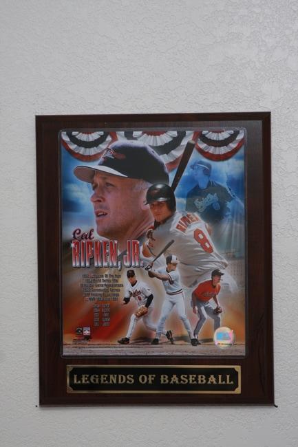 Cal Ripken Jr. Collectible Plaque