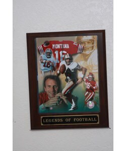 Joe Montana Plaque
