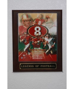 Steve Young Collectible Plaque - Thumbnail 0