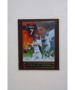 John Elway Collectible Plaque - Thumbnail 0