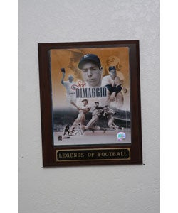 Joe Dimaggio Collectible Plaque - Thumbnail 0