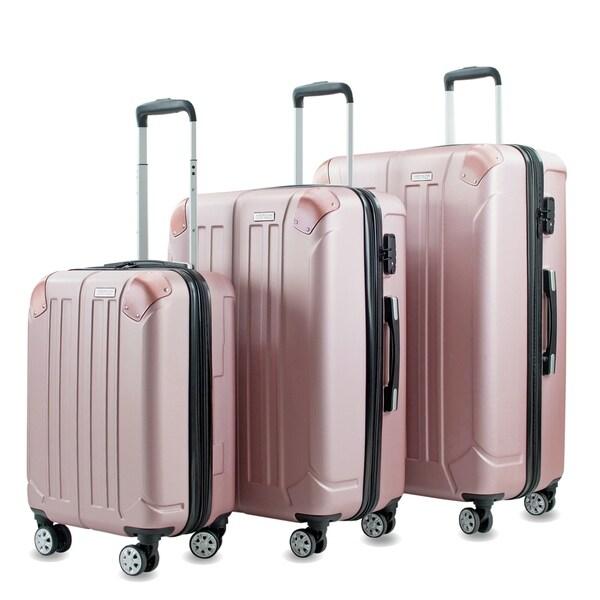 AGT Yukon 3-Piece TSA Spinner Luggage Set