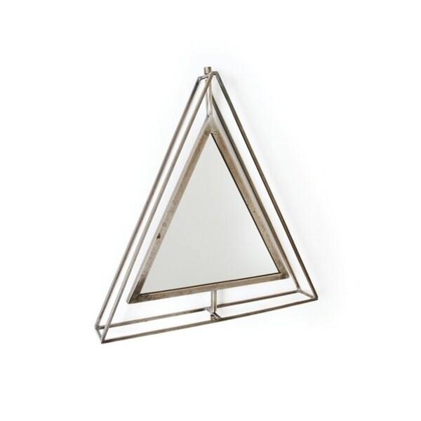 Tishie Triangle Accent Mirror