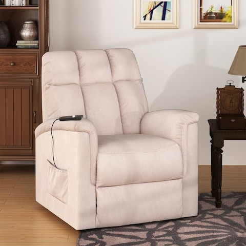 Copper Grove Boton Power-lift Reclining Chair with Built-in Remote