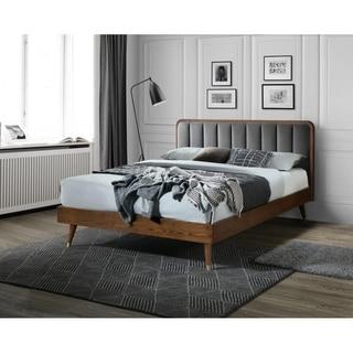 Monte Rosa Wooden Upholstery Platfoam Queen Bed