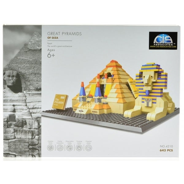 The Great Pyramids in Giza - Eygipt. Opens flyout.