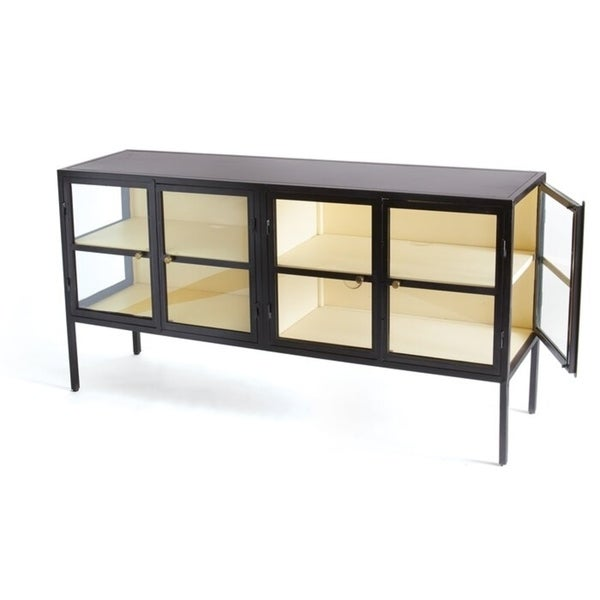 Barolo Black Iron Sideboard