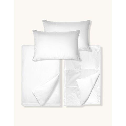 Organic Cotton Duvet Cover and Insert Set