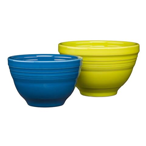 Fiesta 2 Piece Prep Baking Bowl Set Mixed Color