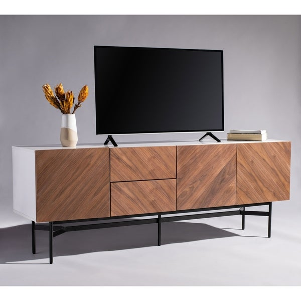 Safavieh Couture Skip Modern Wood Storage Sideboard