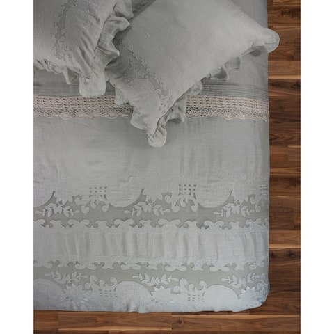 The Gray Barn Spring Field Linen Duvet Set