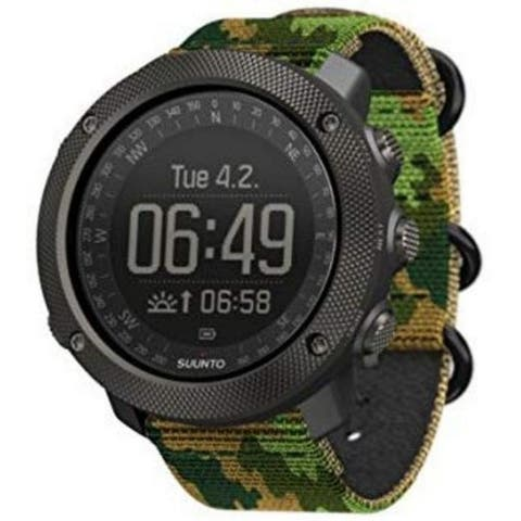 Suunto Traverse Alpha Woodland Men's Hunting Watch SS023445000