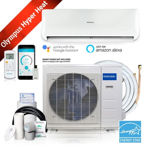 MRCOOL Olympus Hyper Heat 9000-BTU 250-sq ft Single Ductless Mini Split Air Conditioner with Heater ENERGY STAR