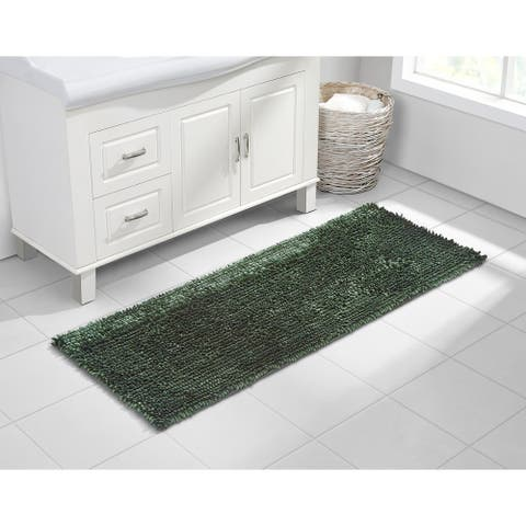 VCNY Home Butter Shine Chenille Noodle Bath Rug