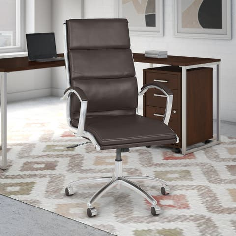 Method High Back Leather Executive Chair from Office by kathy ireland