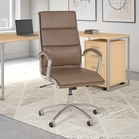 Method High Back Leather Executive Chair from Office by kathy ireland?