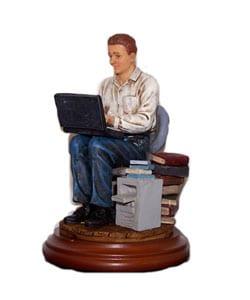 Computer Wiz Professional Figurine