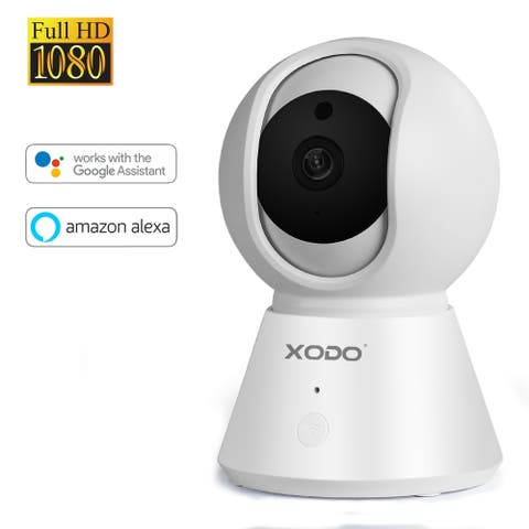 XODO E6 Camera Motion Automatic Tracking Two-Way Tracking Voice Home Security Camera IR Night Vision recorder
