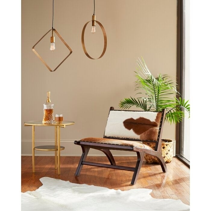 Beaufort 1 Light Single Geometric Pendant Overstock 30584418