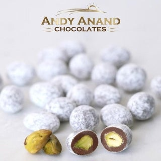 Link to Andy Anand Pistachios covered in crunchy butter toffee Gift Box 1 lbs Similar Items in Gourmet Food Baskets