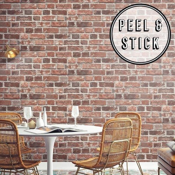 Transform Red Brick Peel and Stick Wallpaper d31868ea 45bf 4170 840f 80c01fa798c8 600