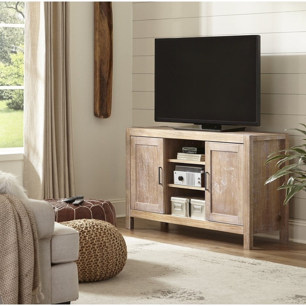 Grain Wood Furniture Montauk Tv Console 56 Inches Wide 56 Inches Wide Overstock 30585194 Rustic Grey