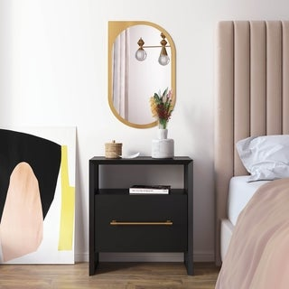 Libre Black Nightstand