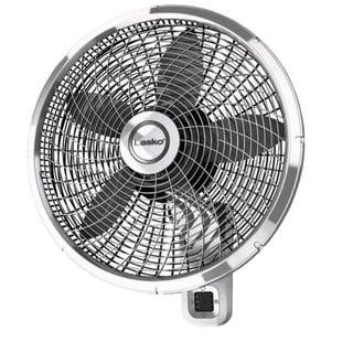 Lasko  22.5 in. H x 18 in. Dia. 3 speed Oscillating Wall Mount Fan