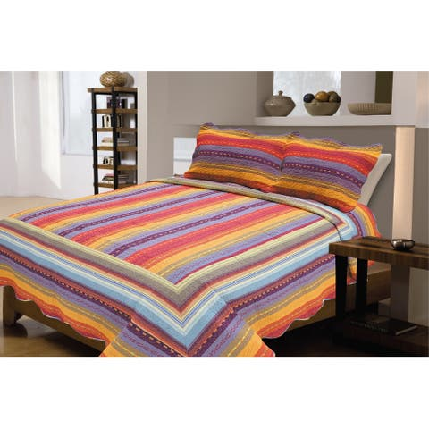 Sedona Cotton Quilt Set