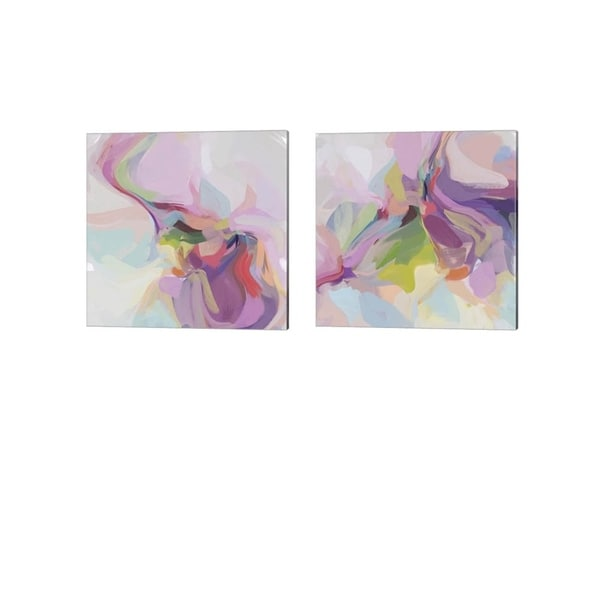 Irena Orlov 'Influence' Canvas Art (Set of 2)