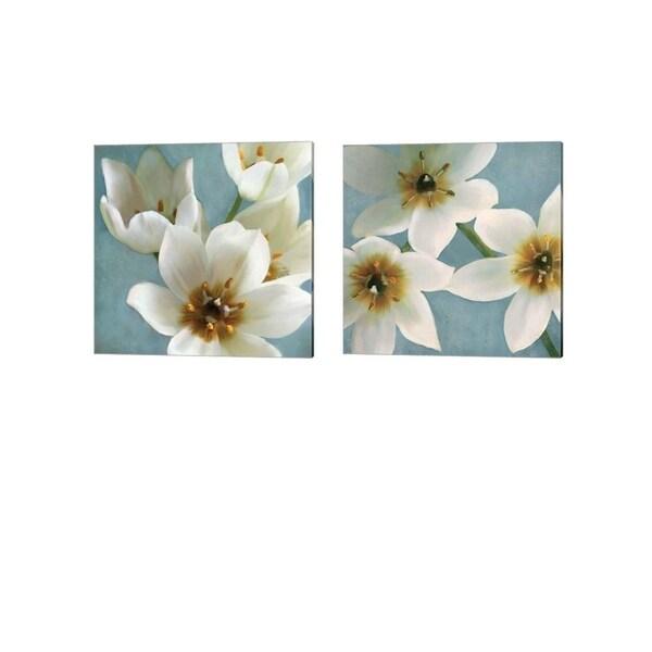 Janel Pahl 'Lily Parfait' Canvas Art (Set of 2)