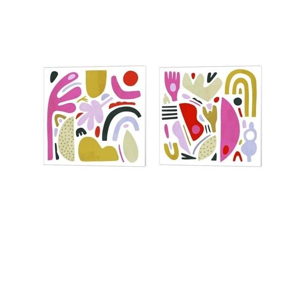 Victoria Borges 'A la Carte' Canvas Art (Set of 2)