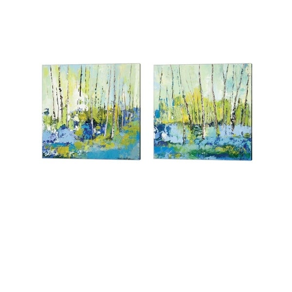 Tracy Lynn Pristas 'Summer Series' Canvas Art (Set of 2)