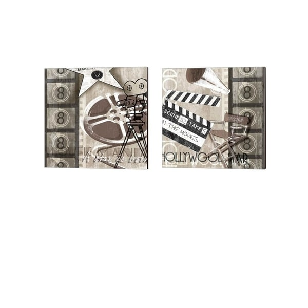 Tandi Venter 'In the Making' Canvas Art (Set of 2)