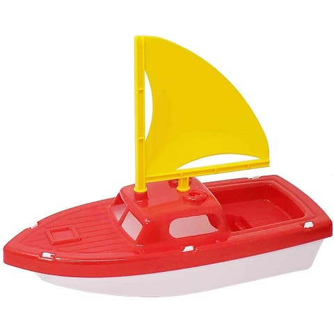 Pool & Bath Toys Sailboats - Great for Girls & Boys - Lightweight and Great for the Beach