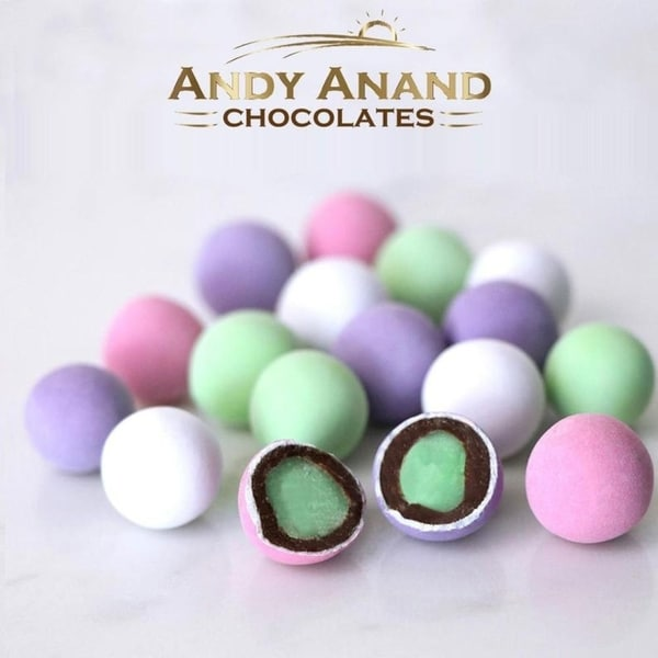 Andy Anand Holland Mints in Dark Belgian Chocolate & natural Peppermint oil Gift