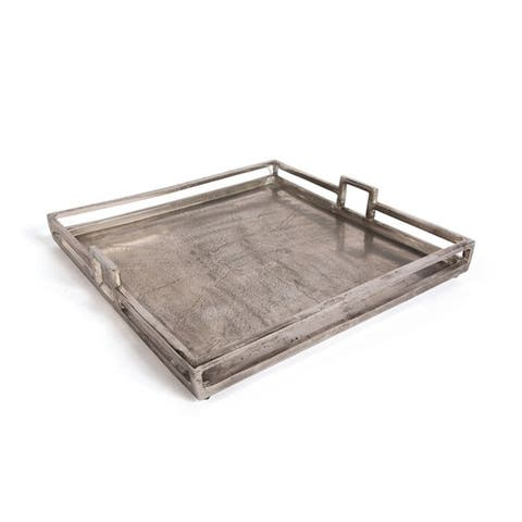 Florian Nickel Aluminum Tray