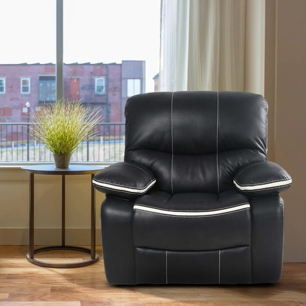 Ergonomic Reclining Sofa Chair/Fabric Recliner Chair Single Recliner Armchair
