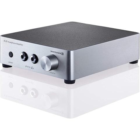 Beyerdynamic A20 Headphone Amplifier, Silver