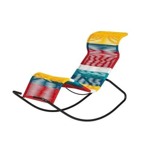 Kiwai Multicolor Acapulco Rocking Chair by Havenside Home