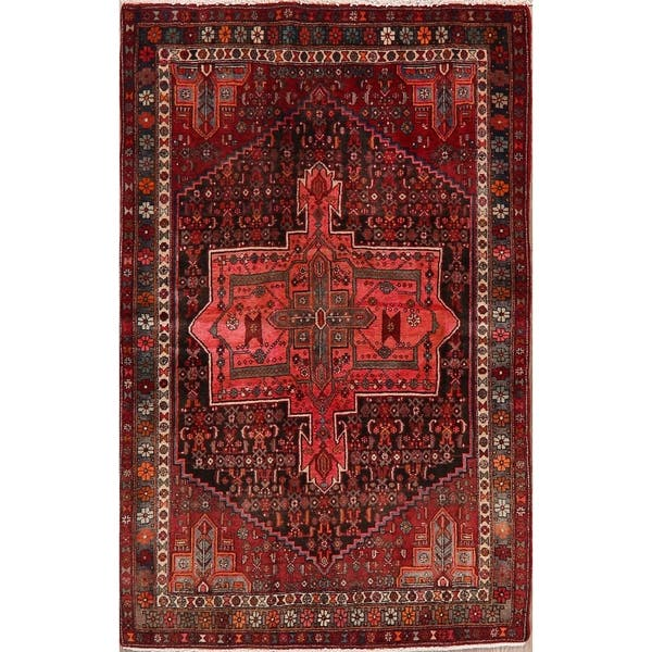 Shop Handmade Bidjar Persian Tribal Geometric Area Rug Oriental