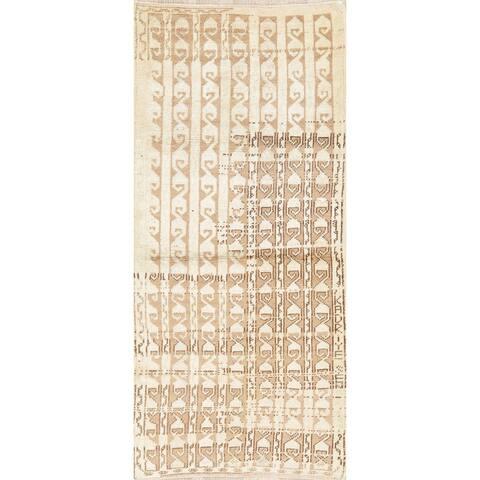 """Vintage Geometric Anatolian Turkish Wool Area Rug Oriental Handmade - 2'9"""" x 5'10"""""""