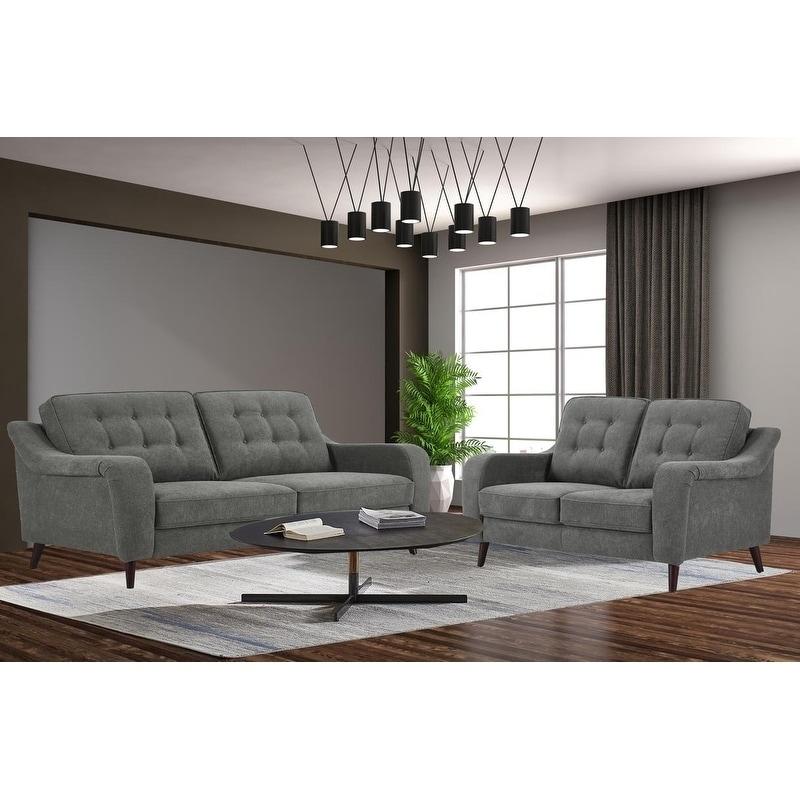 Upholstery Fabric Living Room Sofa Set