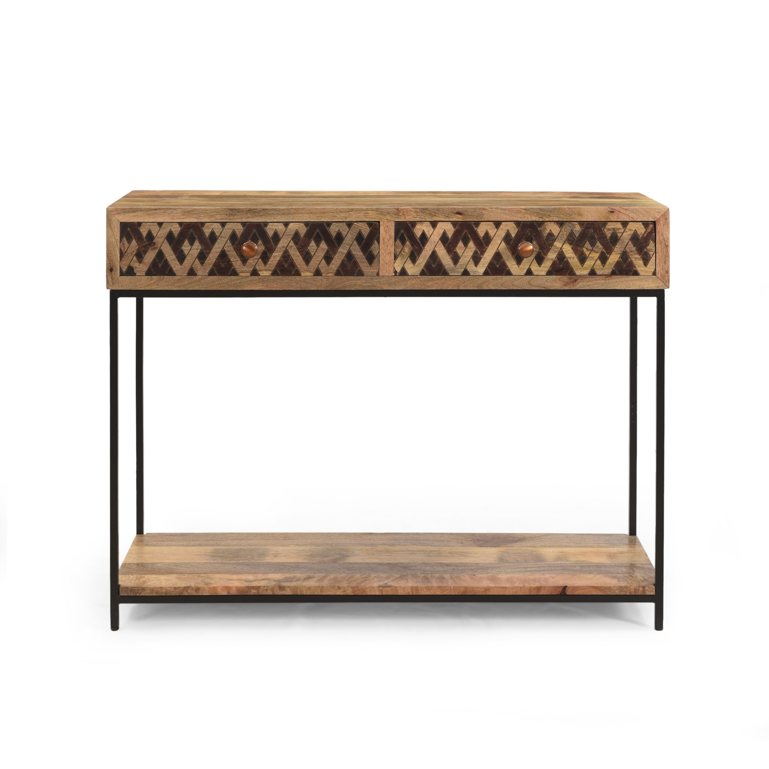 Pentland Boho Console Table By Christopher Knight Home 42 00 W X 15 00 D X 32 00 H Overstock 30593931