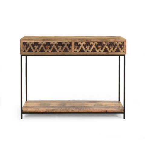"Pentland Boho Console Table by Christopher Knight Home - 42.00"" W x 15.00"" D x 32.00"" H"