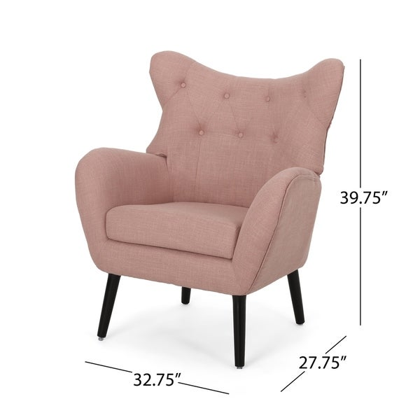 Almador Fabric Accent Chair by Christopher Knight Home